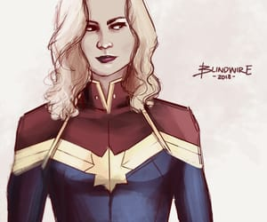 Marvel, captain marvel, and carol danvers image