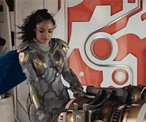 gif, Marvel, and valkyrie image