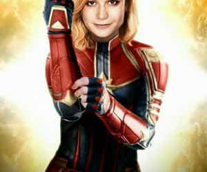 fanart, Marvel, and brie larson image