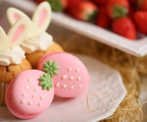 food, cupcake, and easter image
