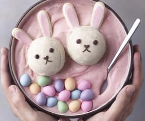 food, easter, and bunny image