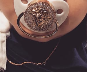 baby, luxury, and gold image
