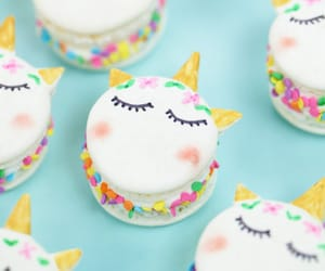 cute food, unicorn food, and unicorn candy image