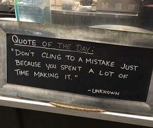 quotes, mistakes, and words image