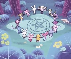 gif, satan, and cartoon image