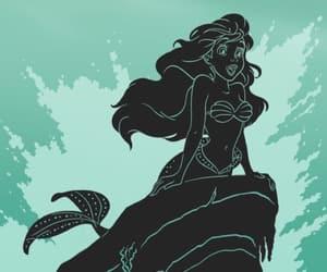 disney, thelittlemermaid, and mermaid image