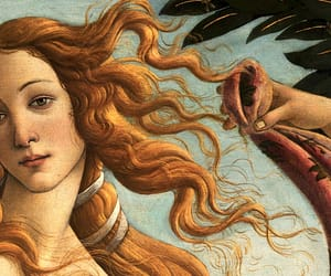 florence, hair, and Venus image