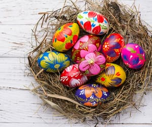 easter and eggs image