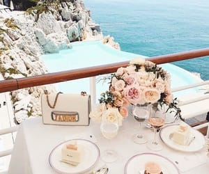 flowers, luxury, and travel image