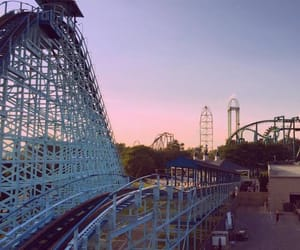 amusement park, theme park, and cedar point image