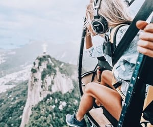 girl, travel, and Dream image