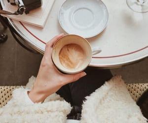 caffeine, coffee, and girl image