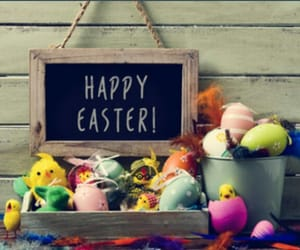 decorating, easter, and eggs image