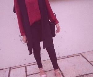 snap, style, and محجبات image