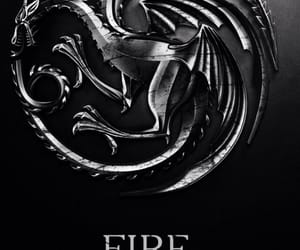 dragon, game of thrones, and deanerys image