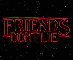 gif, stranger things, and friends image