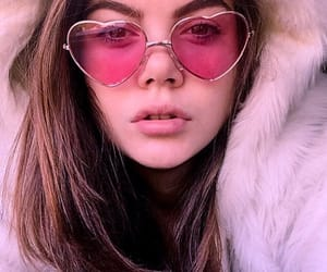 fashion, fur, and glasses image