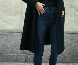 fashion, woman, and jeans image