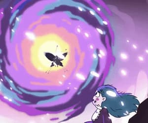 gif, moon butterfly, and svtfoe image