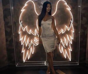 girl, angel, and fashion image