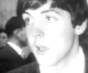 gif, Paul McCartney, and the beatles image
