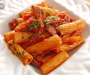 food, noodle, and pasta image