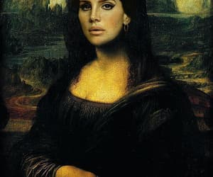 lana del rey, mona lisa, and art image