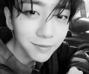 black and white, bap, and bang yongguk image