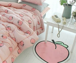 pink, cute, and peach image