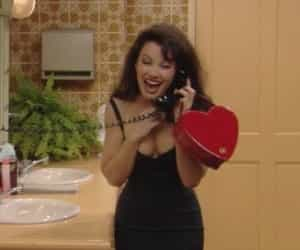 the nanny, 90s, and aesthetic image