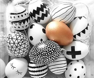 eggs, black, and easter image