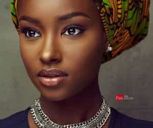 African, girl, and gorgeous image