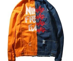 denim, jacket, and fashion image