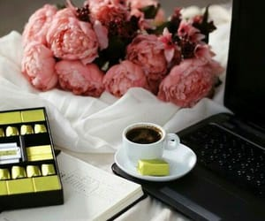 chocolate, coffee, and enjoy image