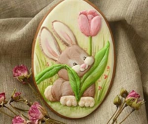 Cookies, love it, and easter image