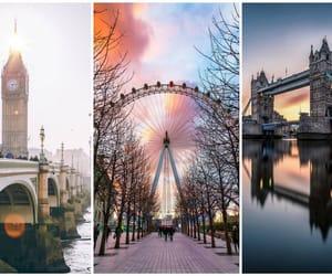 Big Ben, london, and London bridge image