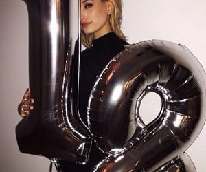 18, hailey baldwin, and birthday image