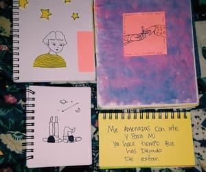 amarillo, dibujos, and pintura image