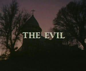 dark, evil, and theme image