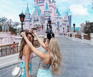friends, friendship, and disney image