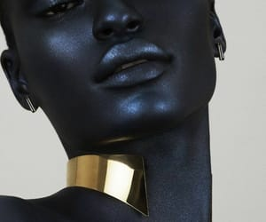 beauty, photography, and black women image