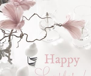 easter, flowers, and happy image