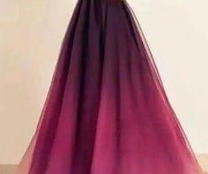 black, dress, and organza image