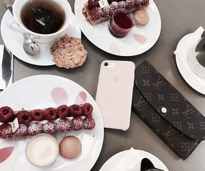 accessories, phone, and drinks image