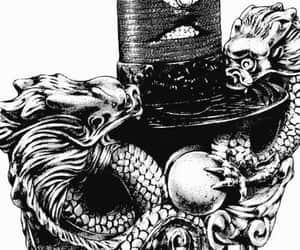 black, tokyo, and dragons image