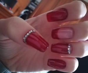 cherry, nails, and french image