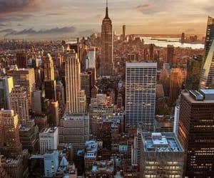 city, new york, and newyork image