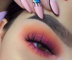 eye, inspiration, and make-up image