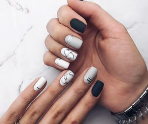 nails, style, and nail art image