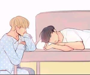 fanart, boyxboy, and jeon jungkook image